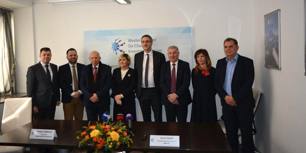 Opening of the WB6 CIF Secretary General's Office in Podgorica