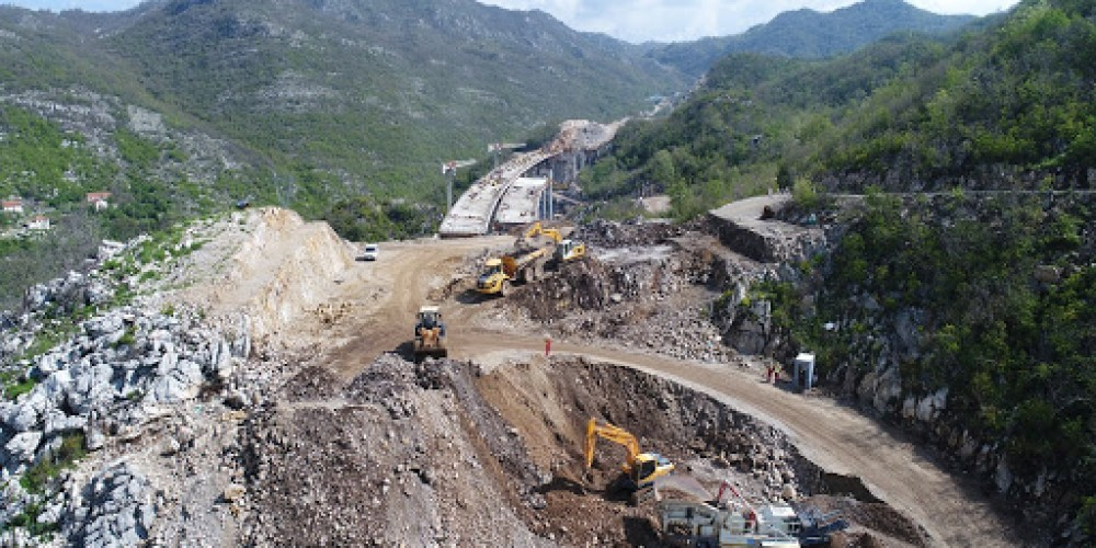Deadline For Finishing Construction of Bar-Boljare Highway Priority Section Moved