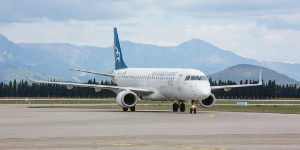 Montenegro Airlines Halts Flights