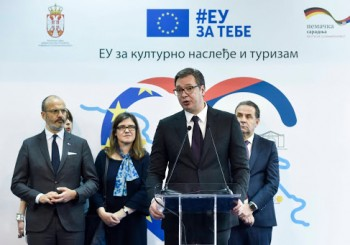 Vucic: EU Investing EUR16.5 Million In Development of Eastern Serbia