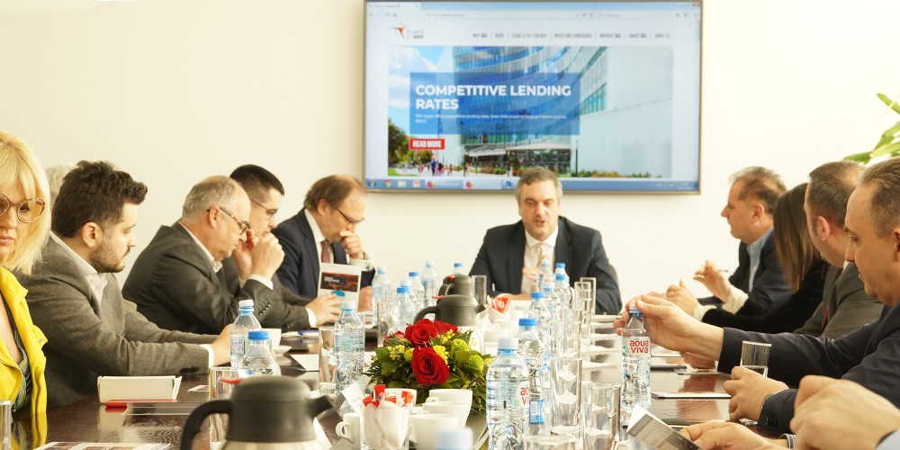 Working meeting of the Chamber investment Forum with Prime Minister Zaev